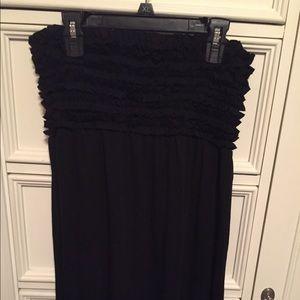 Xhileration Strapless Maxi Dress - Size L